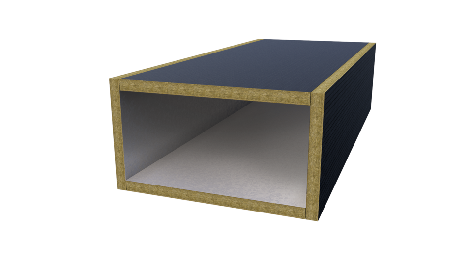 DUCTRock Slab, fire protection