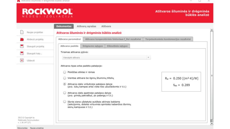 u-values, calculator, interface, program, software, calculations