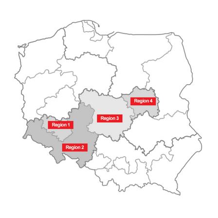 distribution map, Pawel Dopierala