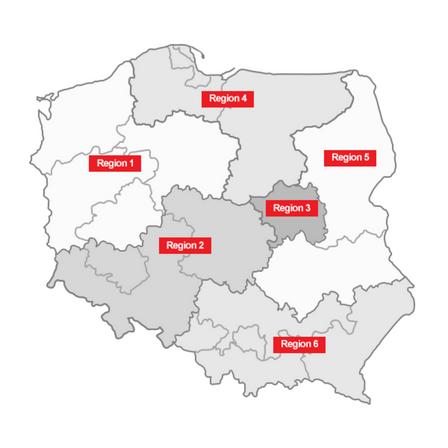 distribution map, helo