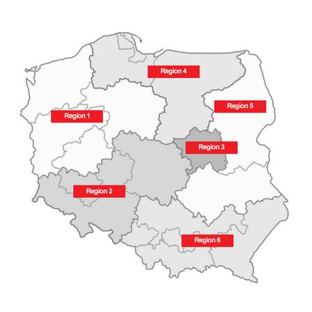 distributors map, hvac, firepro