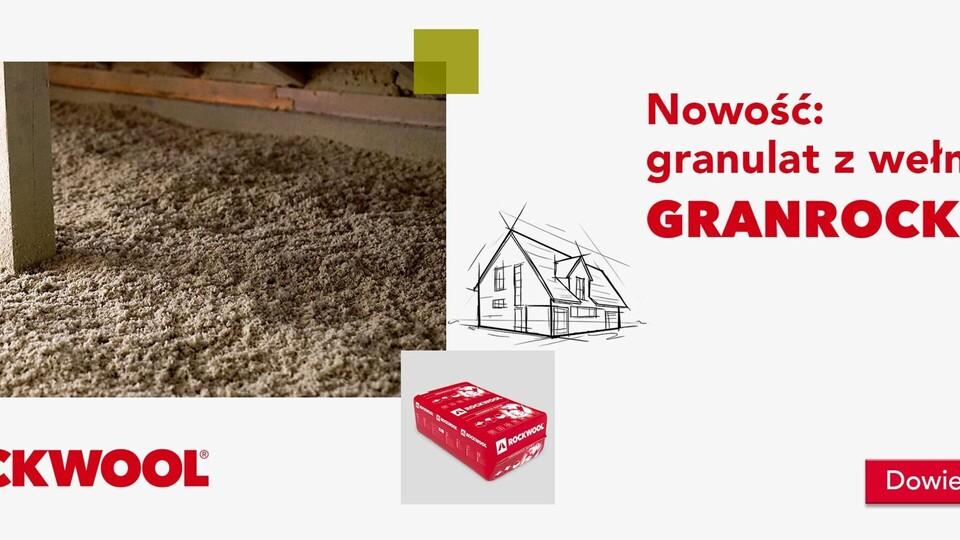Granrock super,  baner, www, new product, granulate