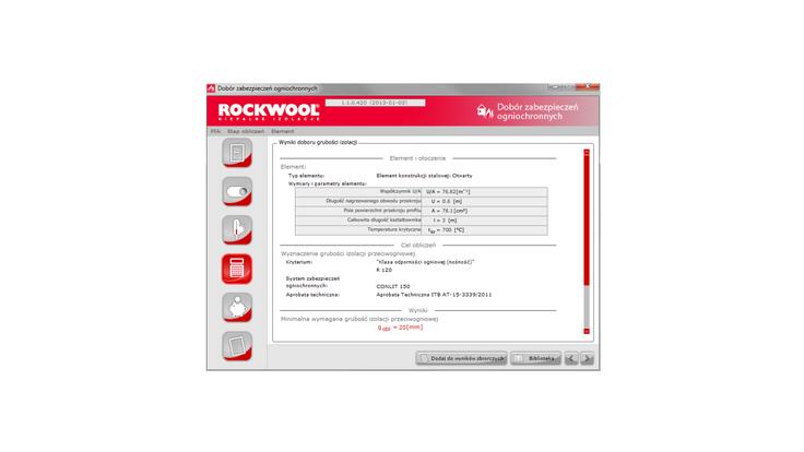 firepro, application, calucation tool