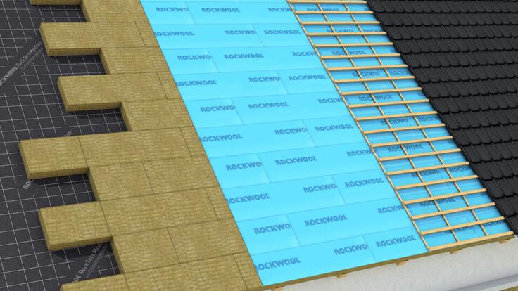 produktnavigator, roof, insulation above the rafters, roof from the ouside, durock austria 035, teaser, teaser image, austria
