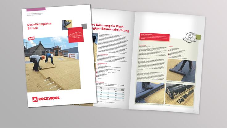 thumbnail, brochure bitrock, roof insulation board bitrock austria, broschüre dachdämmplatte bitrock österreich, teaser, downloads, austria