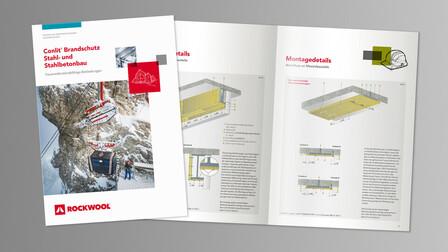 brochure, teaser, thumb, thumbnail, broschüre, conlit brandschutz stahlbau, germany