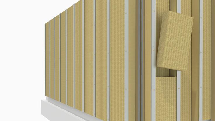 illustration rockzero builiding step 4, rockzero bausystem, schematische darstellung gebäudeaufbau step 4