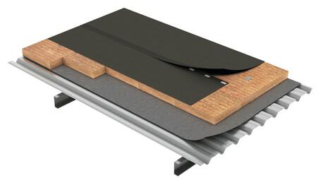 Flat roof, Cubierta Deck DECKROCK Sintética FM