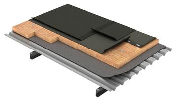 Flat roof, Cubierta Deck DECKROCK LBM FM