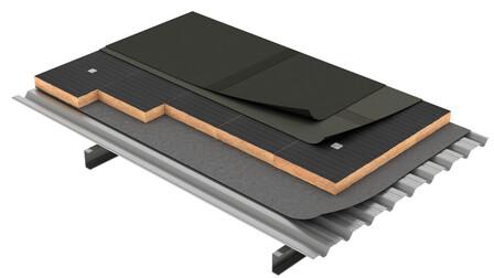 Flat roof, Cubierta Deck DECKROCK LBM FMA