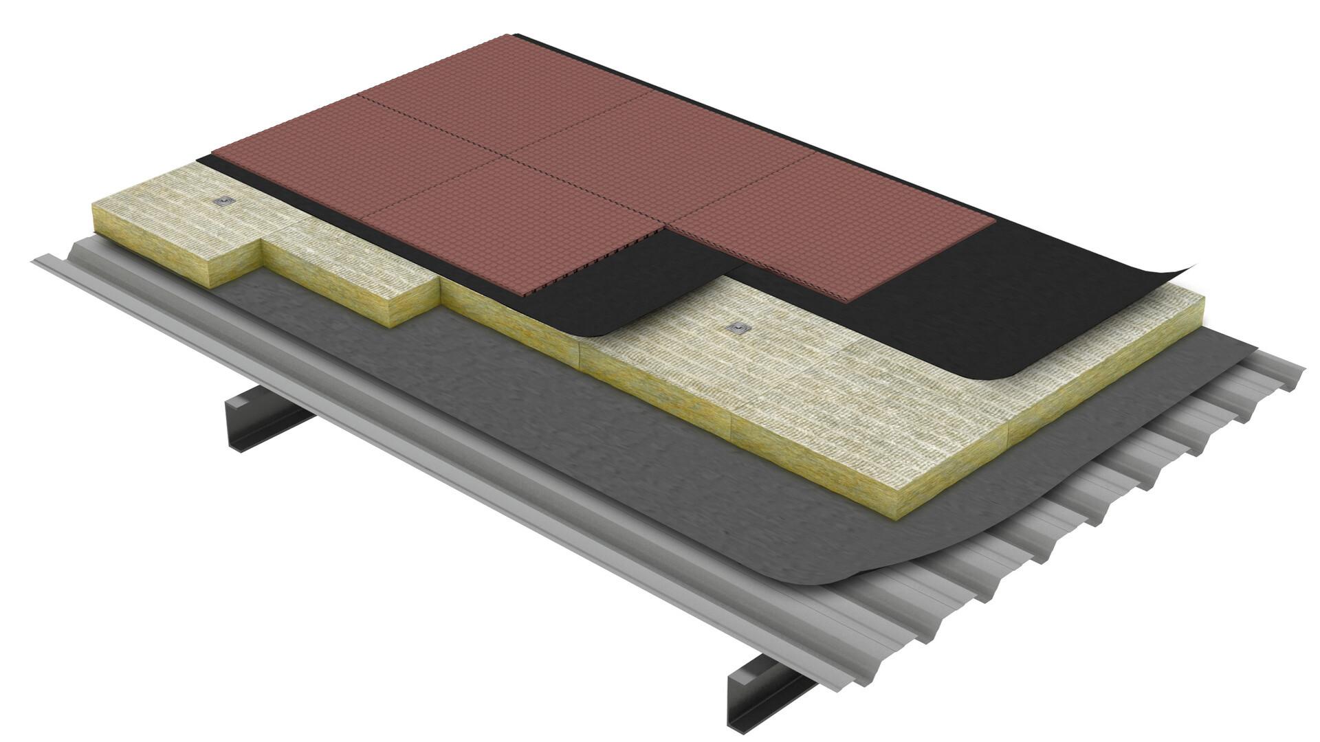 Flat roof, Areas específicas TechRock