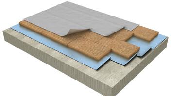 Flat roof, soporte de hormigón