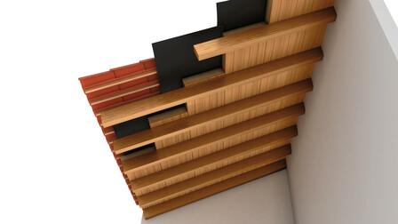 pitched roof render, Rockwood
