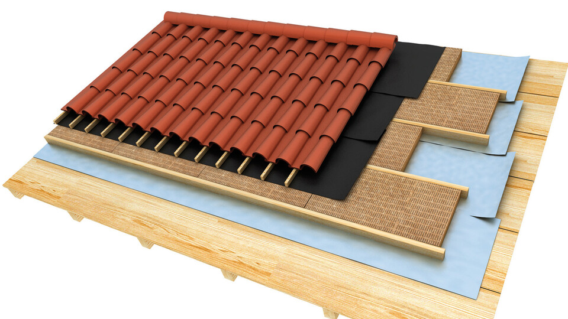 pitched roof render, Entrerastreles