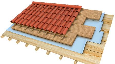 pitched roof render, Rockciel
