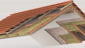 pitched roof, attics, combles aménagés