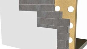 internal wall, mur par l'intérieur