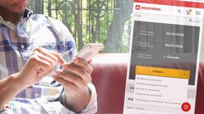 RockCommerce interface