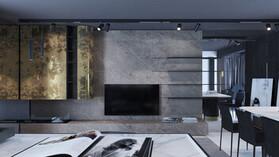 "news article, TV program about apartment renovation ""Dachnyi Otvet"", design"