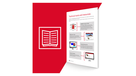 The Red Book Illustration, Landing Page