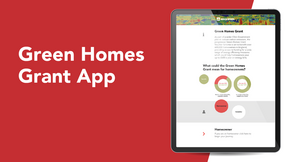 Green Homes Grant App [Merchant] Website Side Card