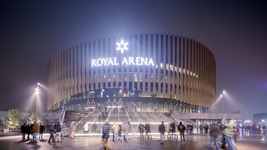 Royal Arena  For more information see: Permissions