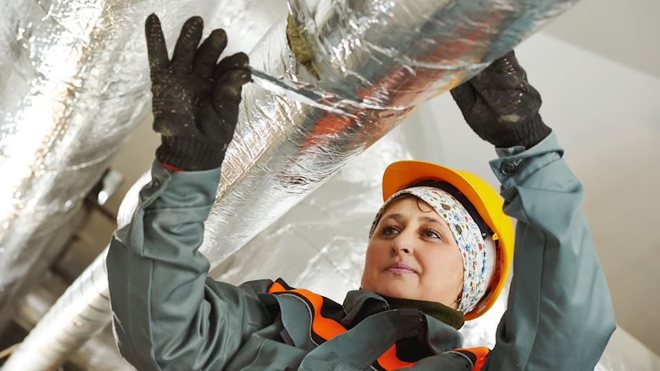 Pipe insulation. Technical insulation