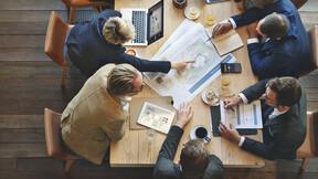 Corporate, meeting, business, team