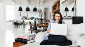Woman, Indoor, Home