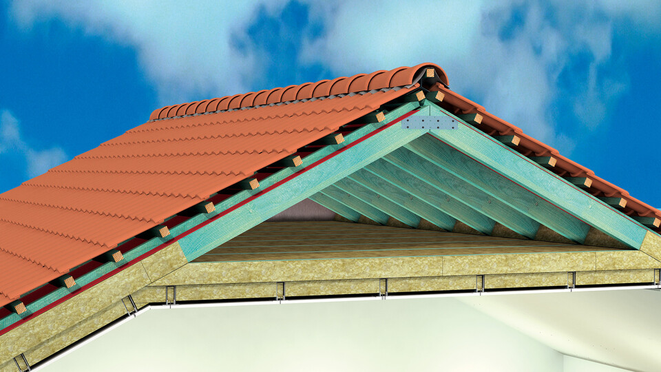 Piched roof insulation, internal insulation