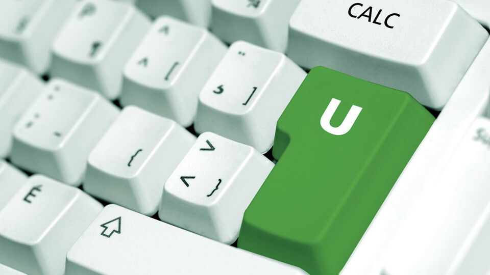 u value, keyboard, u, value, app