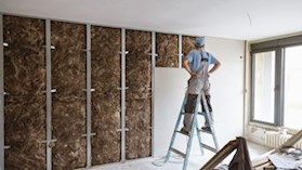 Internal walls, sound, acoustics, building, interior, installation