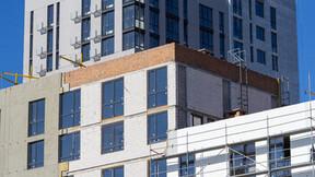 External walls, ETICS, MUH, multi unit, offices