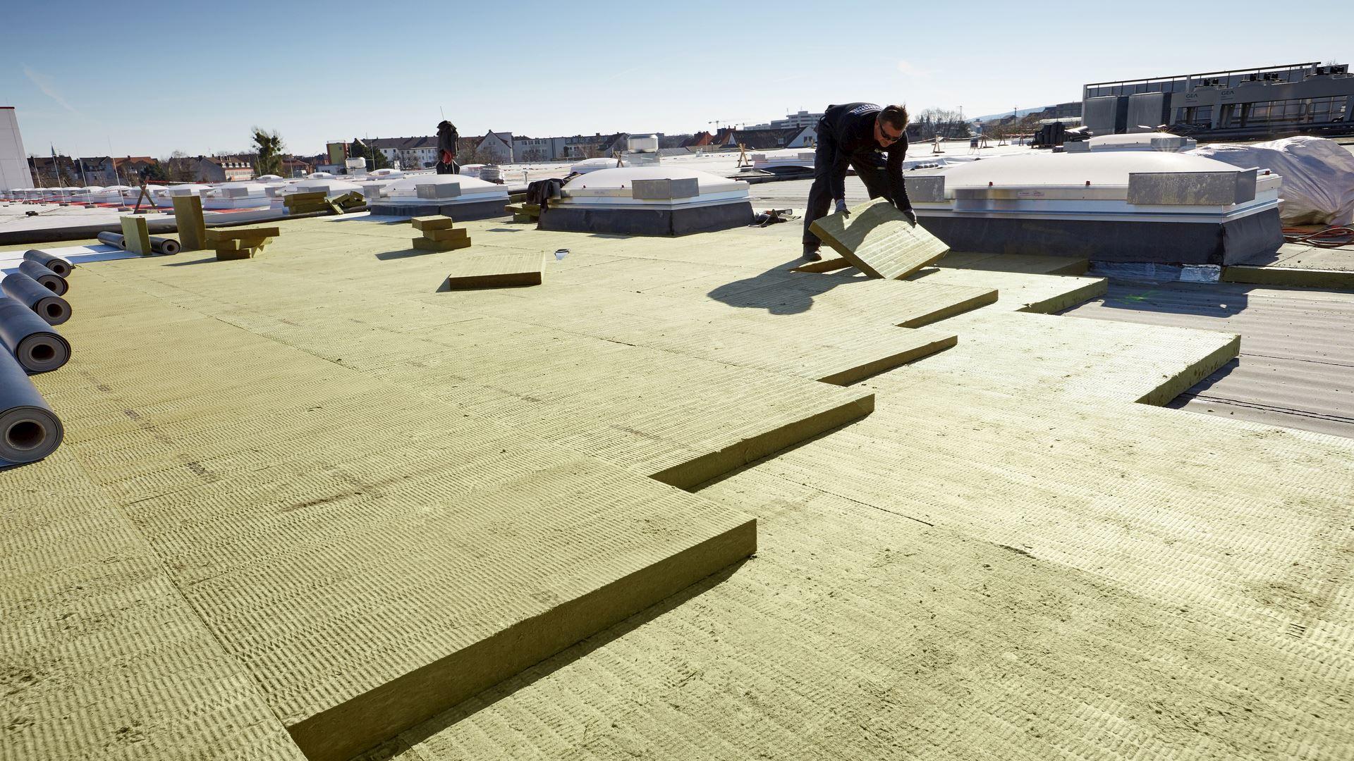 presse, georock 038, gefälledämmplatte, dach, flat roof, press, germany