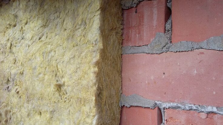 steenwol 35 jaar, spouwmuurisolatie, cavity wall insulation after 35 years