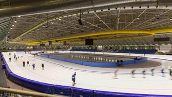 case, stadion, thialf, schaatsen, ice rink, skating, Conlit Steelprotect Board