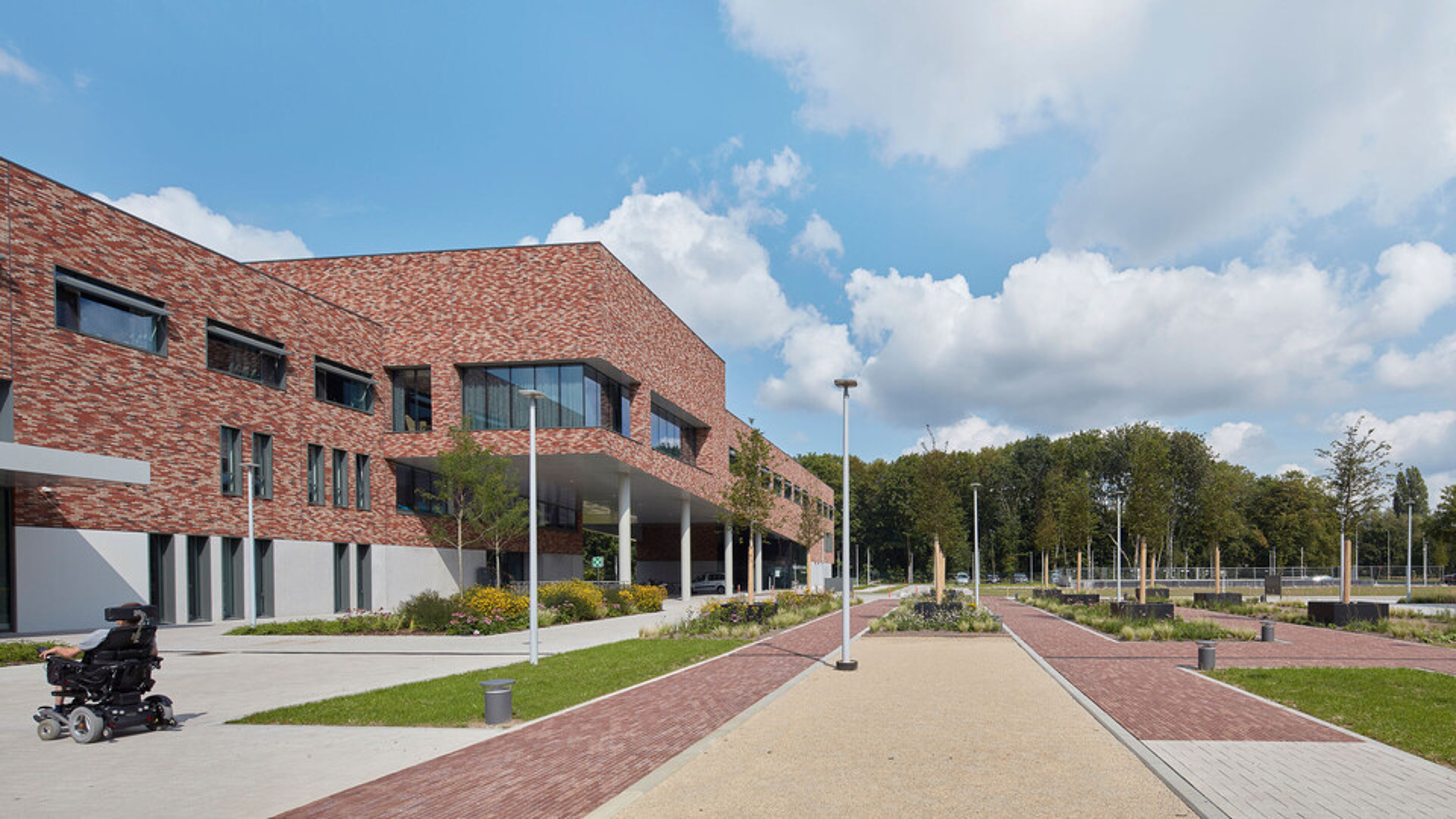 Hof ter Schelde, reference project, referentie, spouwmuur