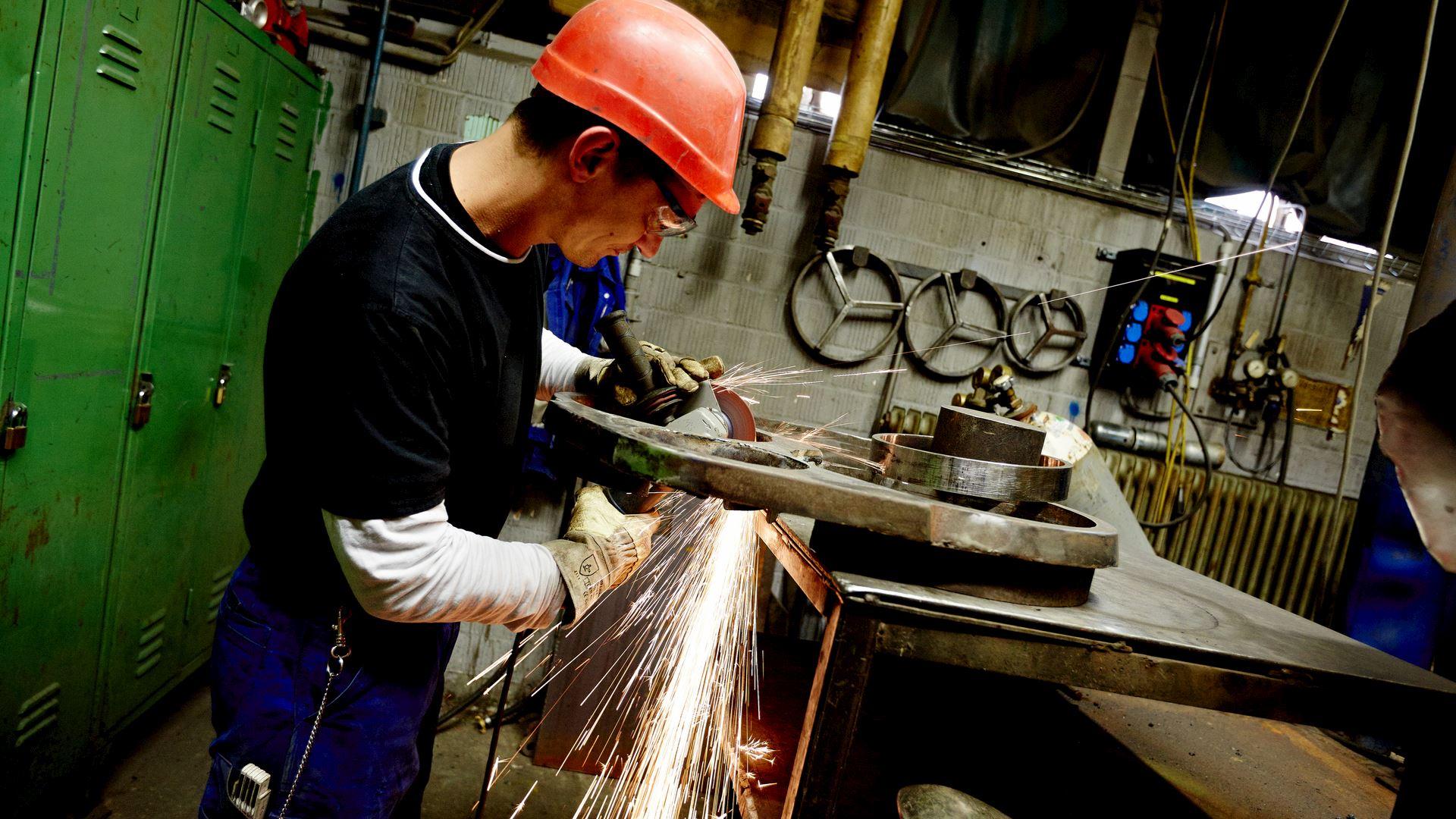 employee, employees, trainee, apprentice, career, factory, germany