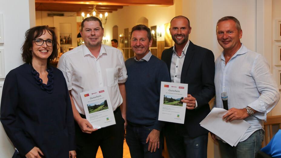 press, golf tournament 2018, winners, ceremony, adamstal, presse, austria