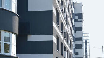 facade, wall, wall insulation, etics, multi-family house, multi-family home, wdvs, austria