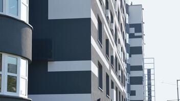 facade, wall, wall insulation, etics, multi-family house, multi-family home, wdvs, austria