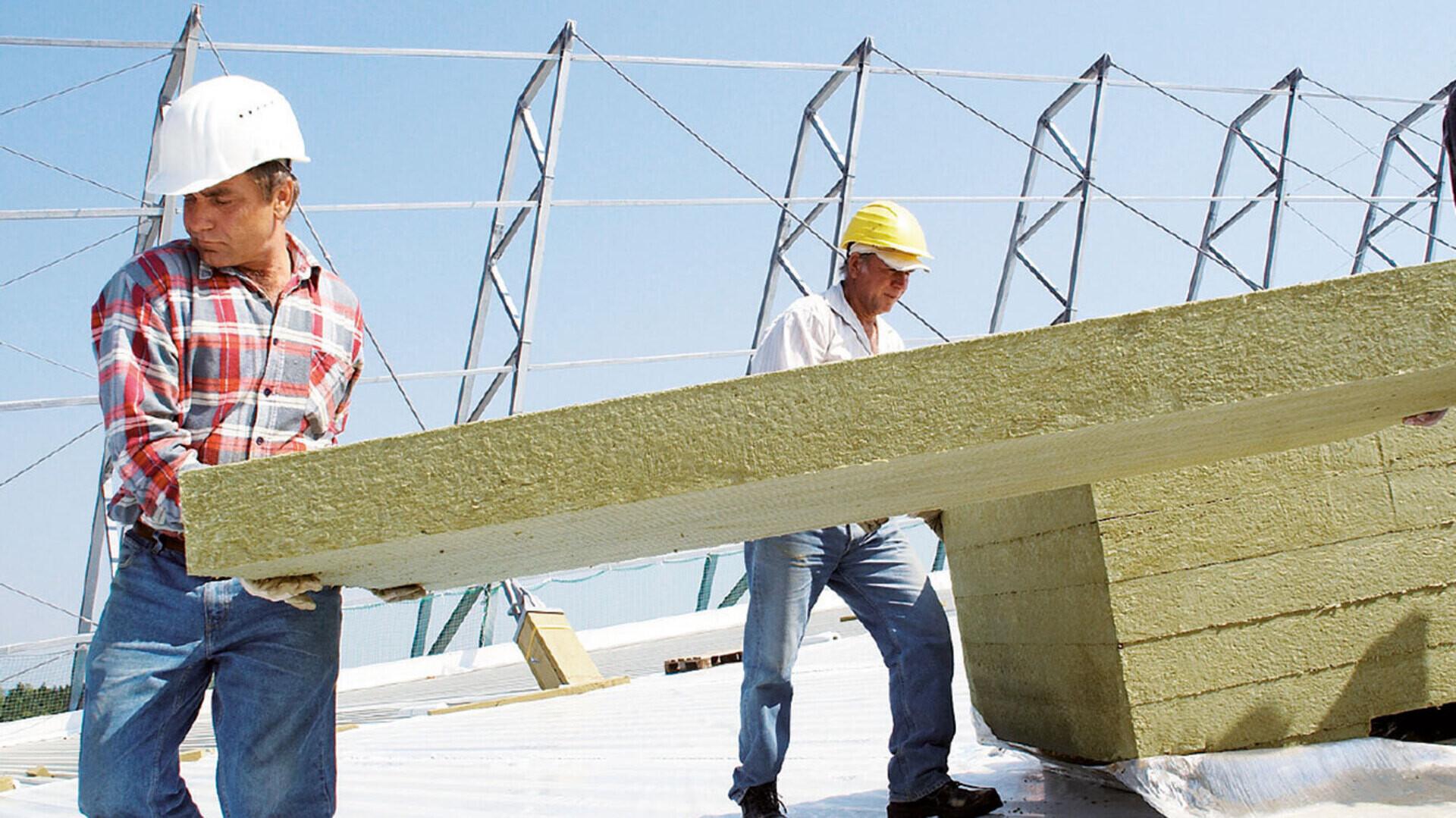 Die richtige Flachdachdämmung für den entsprechenden Dachaufbau finden bei ROCKWOOL