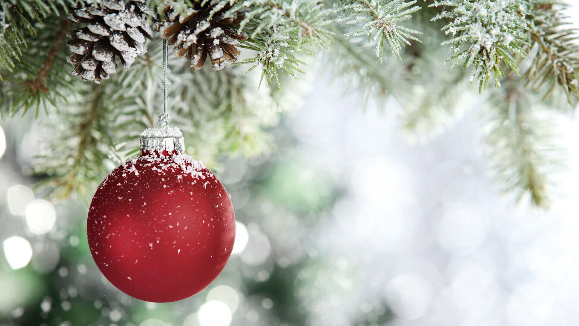 christmas bauble, christmas holidays, christmas card
