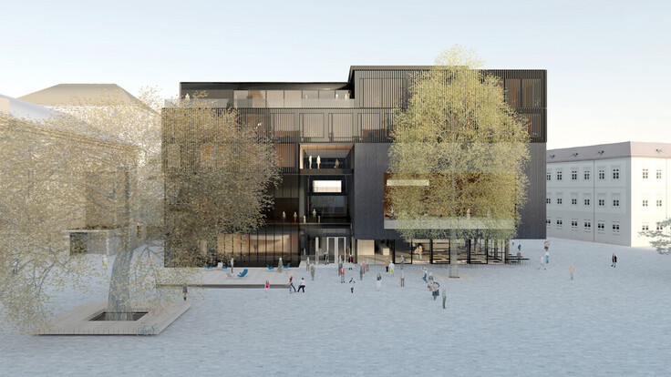 reference, house of music innsbruck, haus der musik innsbruck, visualisation, rendering, austria