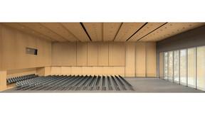reference, house of music innsbruck, haus der musik innsbruck, visualisation, rendering, concert hall, austria
