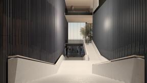 reference, house of music innsbruck, haus der musik innsbruck, visualisation, rendering, staircase, austria
