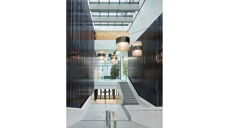 reference, house of music innsbruck, haus der musik innsbruck, interior view, staircase, austria