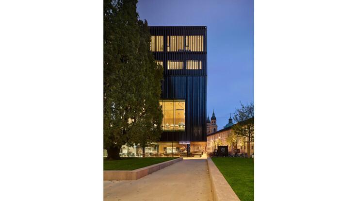 reference, house of music innsbruck, haus der musik innsbruck, external wall, ventilated facade, austria