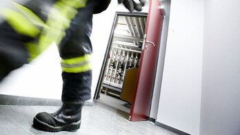 HVAC, fireman, Germany, indoor, fire safety