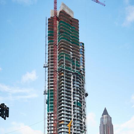 grand tower, frankfurt, new buliding, teclit, cold insulation, HVAC insulation, pipe insulation, firesafety, fireproof, germany, presse, press